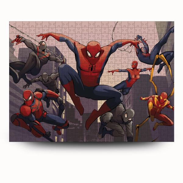 Spider-man into the spider-verse jigsaw puzzle 4