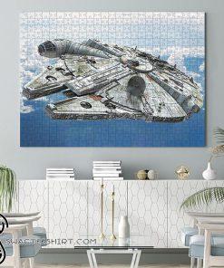 Star wars millennium falcon jigsaw puzzle