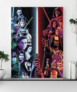 Star wars the dark and the light side jigsaw puzzle 1