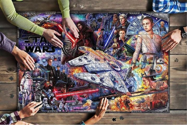 Star wars the force awakens jigsaw puzzle 3