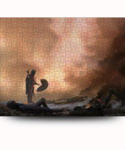 Star wars the mandalorian jigsaw puzzle 4