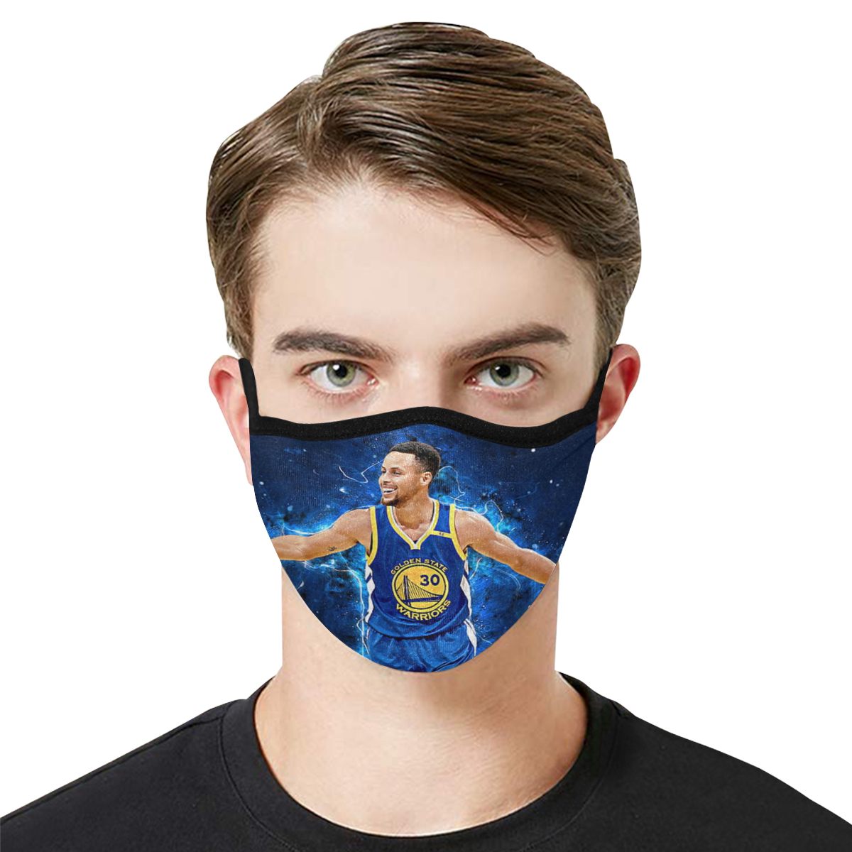 Stephen curry anti-dust cotton face mask 1