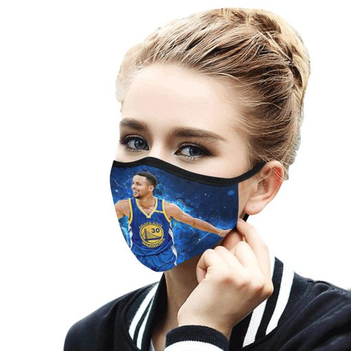 Stephen curry anti-dust cotton face mask 3
