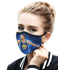 Stephen curry anti-dust cotton face mask 4