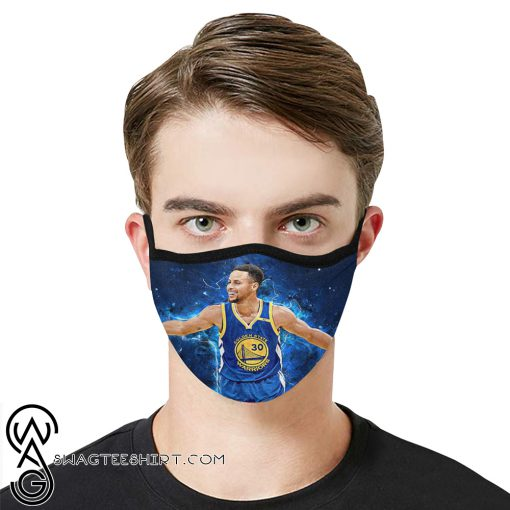 Stephen curry anti-dust cotton face mask