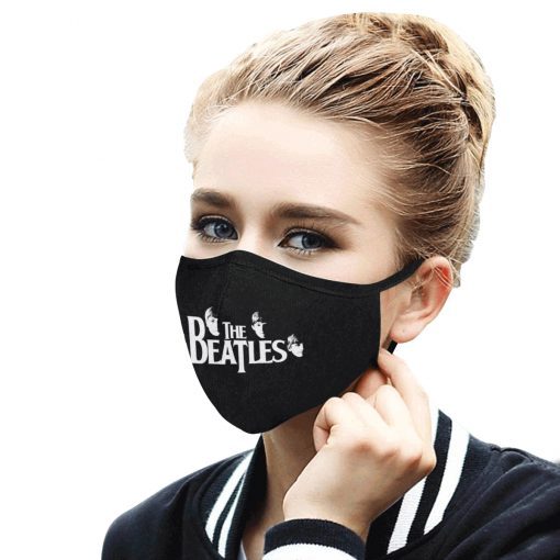The beatles band anti-dust cotton face mask 1