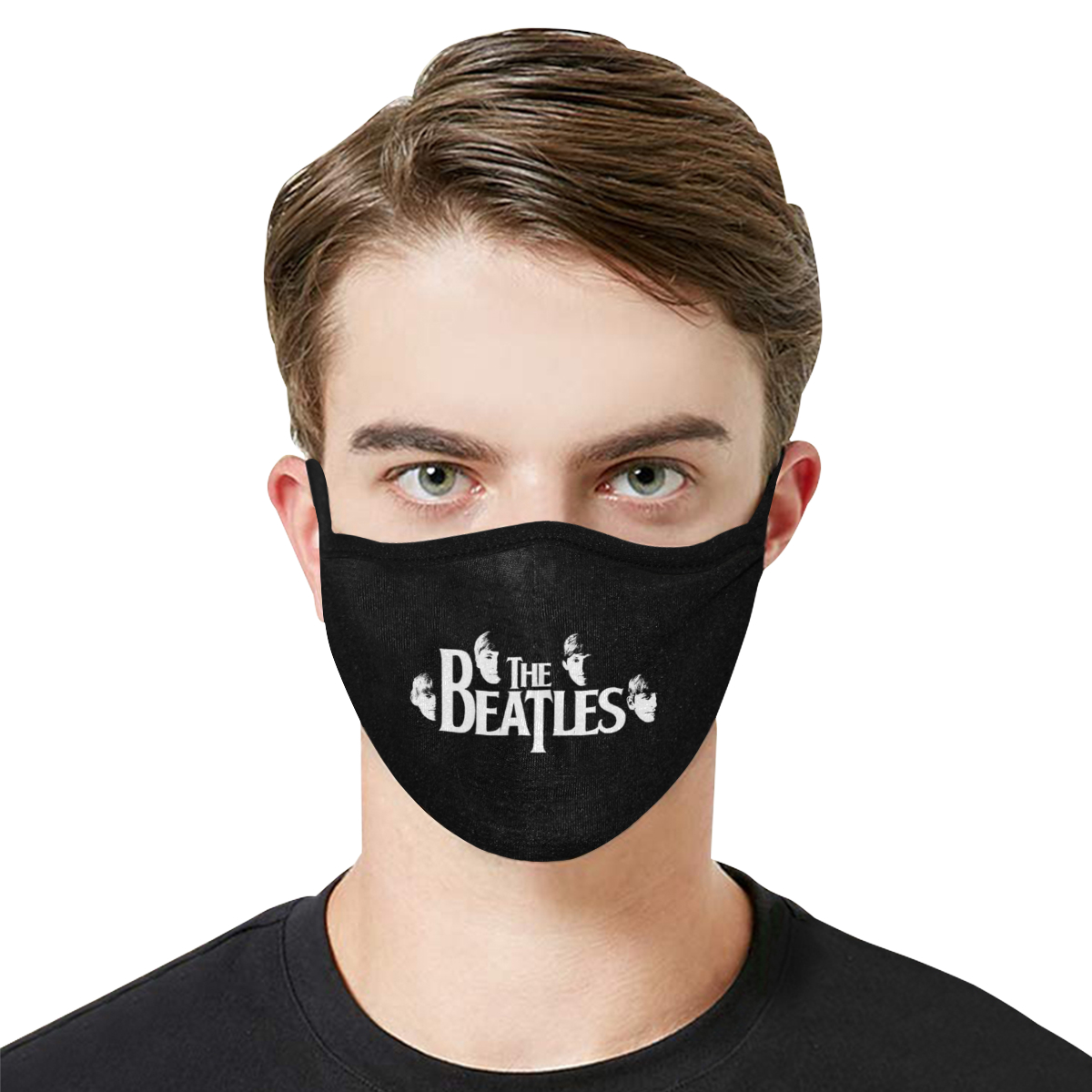 The beatles band anti-dust cotton face mask 3