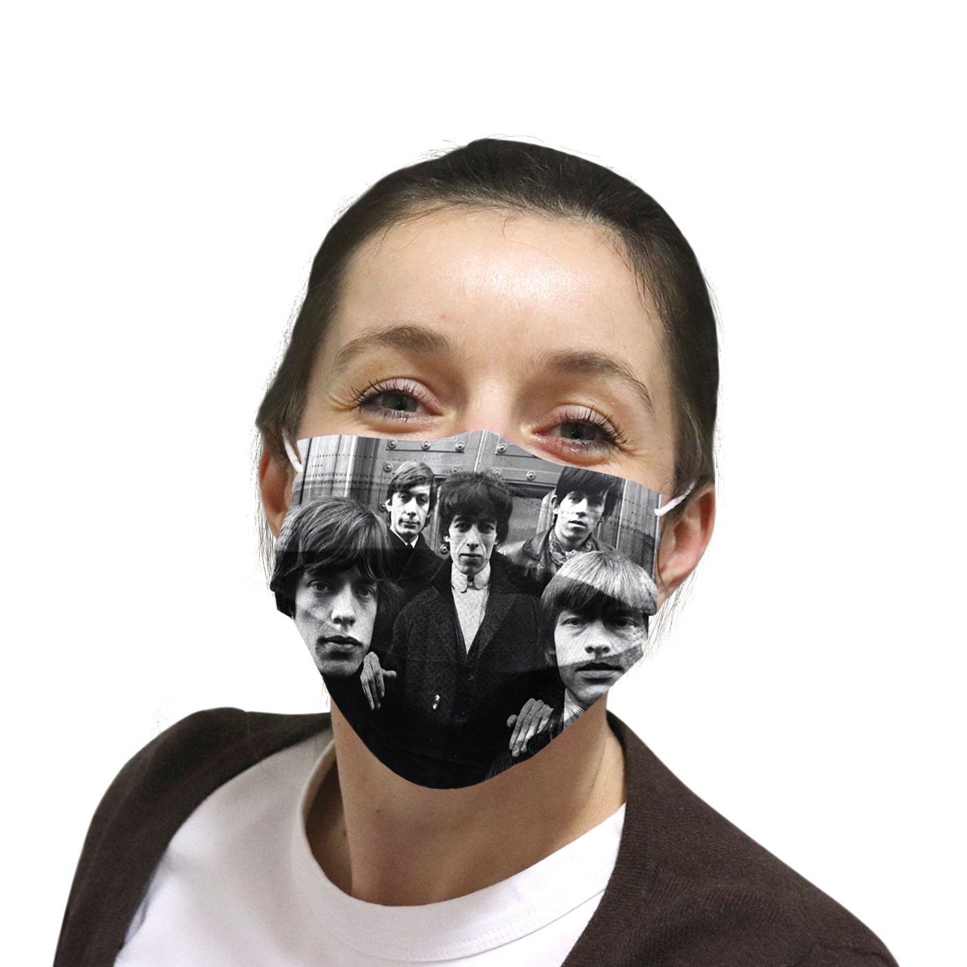 The rolling stones rock band anti-dust cotton face mask 3