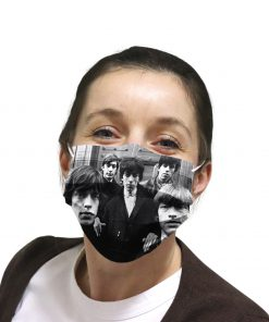 The rolling stones rock band anti-dust cotton face mask 4