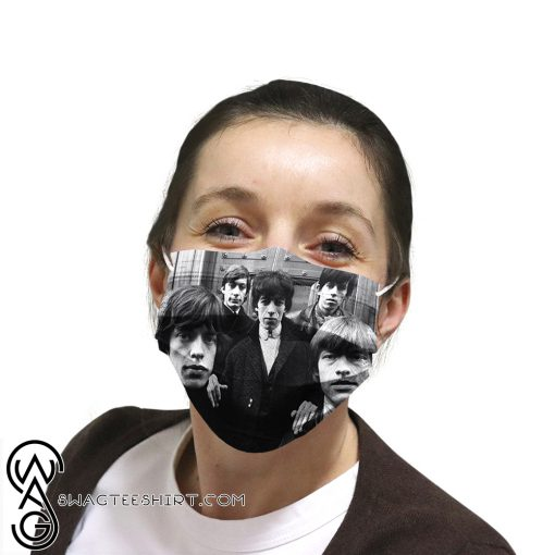 The rolling stones rock band anti-dust cotton face mask