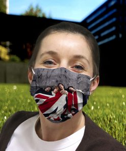 The who rock band anti-dust cotton face mask 2