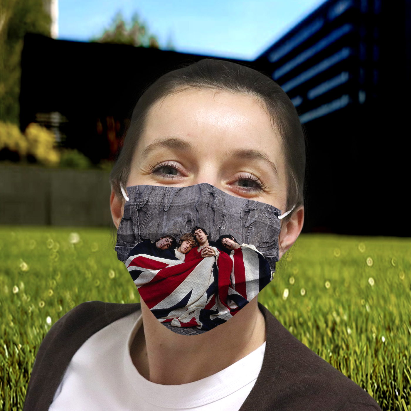 The who rock band anti-dust cotton face mask 4