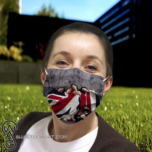 The who rock band anti-dust cotton face mask