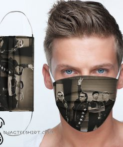 U2 rock band anti-dust cotton face mask