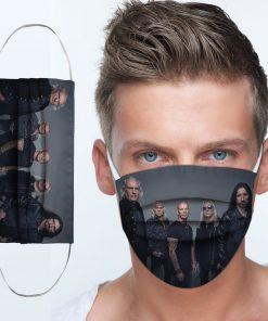 Uriah heep rock band anti-dust cotton face mask 2