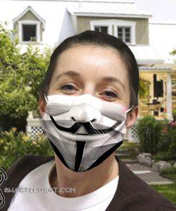 V for vendetta anti-dust cotton face mask