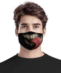 Venom mouth anti-dust cotton face mask 1