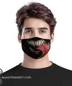 Venom mouth anti-dust cotton face mask