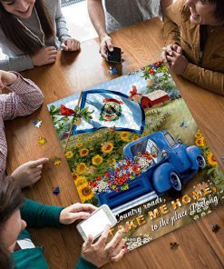 West virginia country roads take me home jigsaw puzzle 4