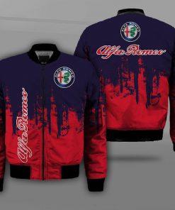 Alfa romeo logo full printing bomber