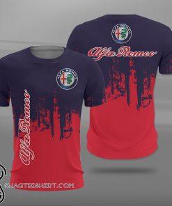 Alfa romeo logo full printing shirt