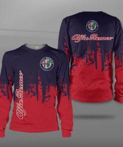 Alfa romeo logo full printing sweatshirt