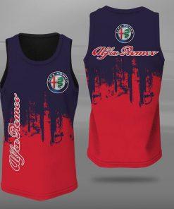 Alfa romeo logo full printing tank top