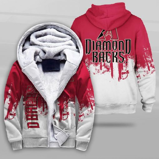 Arizona diamondbacks team football full printing fleece hoodie