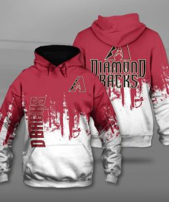 Arizona diamondbacks team football full printing hoodie
