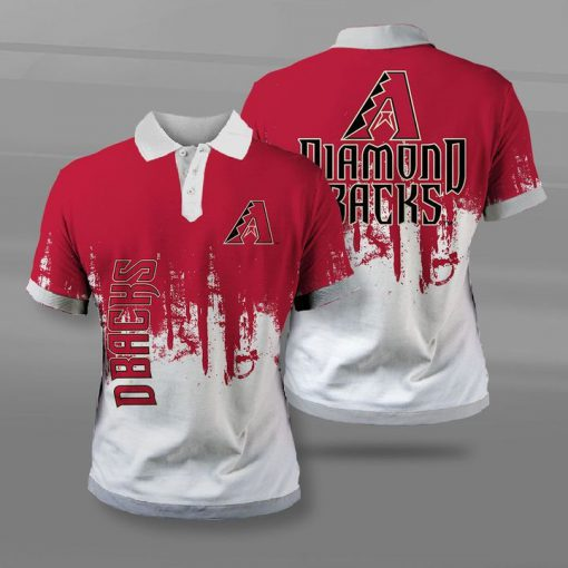 Arizona diamondbacks team football full printing polo