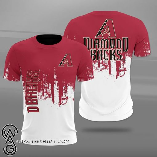 Arizona diamondbacks team football full printing shirt