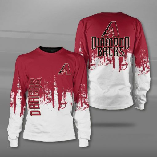Arizona diamondbacks team football full printing sweatshirt