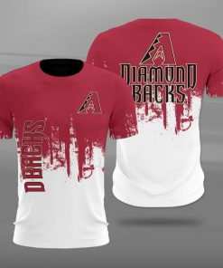 Arizona diamondbacks team football full printing tshirt