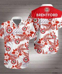 Brentford football club hawaiian shirt 3