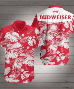 Budweiser beer hawaiian shirt 1