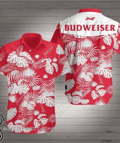 Budweiser beer hawaiian shirt
