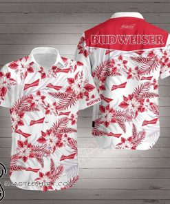 Budweiser hawaiian shirt
