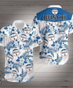 Busch hawaiian shirt