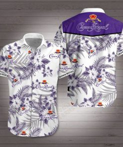 Crown royal canadian whisky hawaiian shirt 1