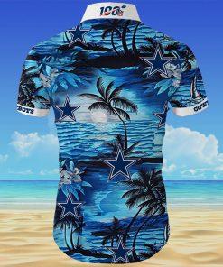 Dallas cowboys team all over printed hawaiian shirt 4