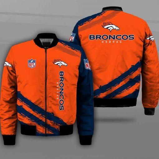 Denver broncos team football full printing bomber