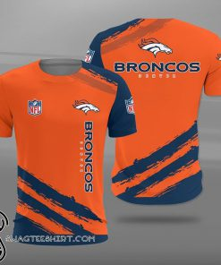 Denver broncos team football full printing shirt