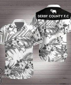 Derby county football club hawaiian shirt
