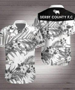 Derby county football club hawaiian shirt 3
