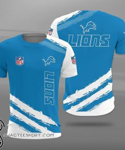 Detroit lions football team full printing shirt