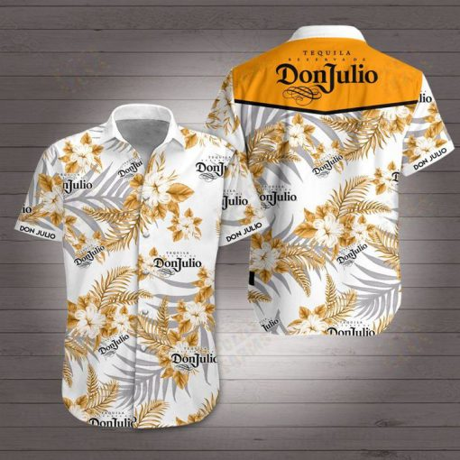 Don julio tequila hawaiian shirt 2