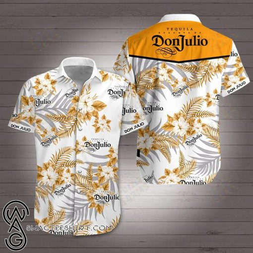 Don julio tequila hawaiian shirt