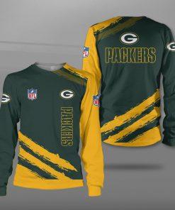 Green bay packers football team full printing sweatshirt