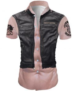 Harley-davidson son of anarchy california all over printed hawaiian shirt 4