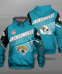 Jacksonville jaguars football team full printing hoodie